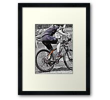 Plowing the Fields  Framed Print