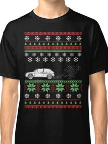 MK1 Golf Ugly Christmas Sweater Style Classic T-Shirt