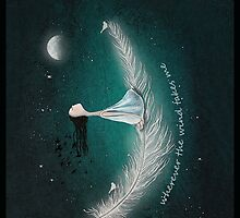wherever the wind takes me by Amanda  Cass