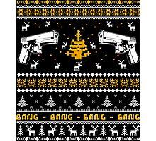 Glock Ugly Christmas Sweater Photographic Print