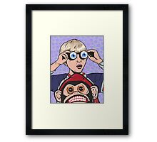 Rock and Roll Martian!  Framed Print