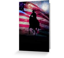 American Cowboy Greeting Card
