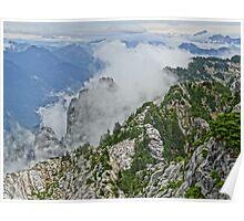 Mt Pilchuck, Cascade Mountains Poster
