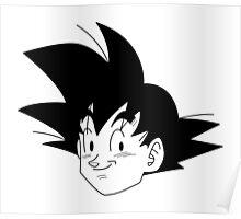 Goku Face Poster
