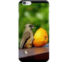 Sit down meal iPhone Case/Skin
