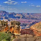 The Majestic South Rim Of The Grand Canyon by Diana Graves Photography