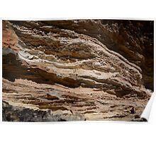 Wind eroded cave Poster