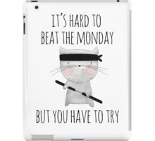 beat the monday /Agat/ iPad Case/Skin
