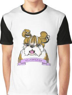 Flawless Shih tzu Graphic T-Shirt