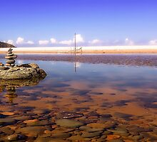 Rocks at Saltwater 01 by kevin chippindall