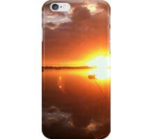 Sunrise on River Road iPhone Case/Skin