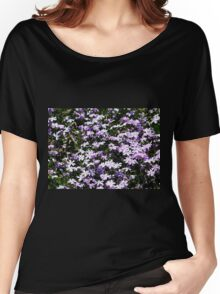 Lavender Layer Women's Relaxed Fit T-Shirt