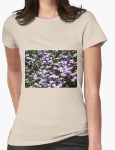 Lavender Layer Womens Fitted T-Shirt