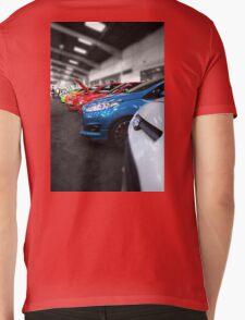 Rainbow of Cars Mens V-Neck T-Shirt