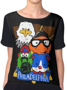 Philly Sporps! Chiffon Top