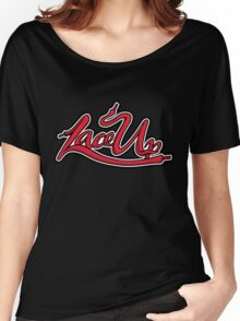 MGK Lace Up Women's Relaxed Fit T-Shirt