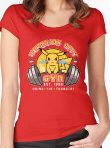 Vermilion City Gym Women's Fitted Scoop T-Shirt