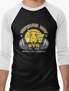 Vermilion City Gym Men's Baseball ¾ T-Shirt