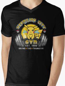 Vermilion City Gym Mens V-Neck T-Shirt