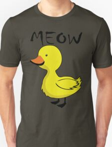 Meow The Duck Yellow T-Shirt