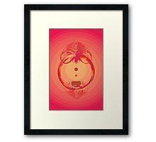 Fire Ring Framed Print