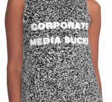 Corporate Media Sucks 2 Contrast Tank