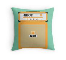 Juice amp Throw Pillow
