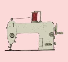 Sewing machine Baby Tee