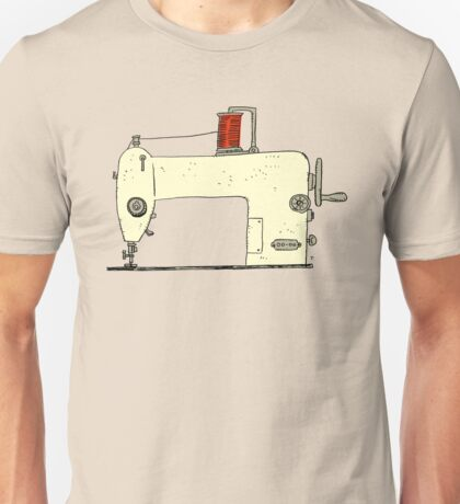 Sewing machine Unisex T-Shirt