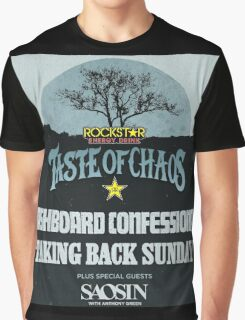 taste of chaos 2016 Graphic T-Shirt