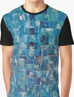 Abstract blue 4 Graphic T-Shirt