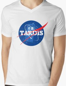 TARDIS - Doctor Who Mens V-Neck T-Shirt