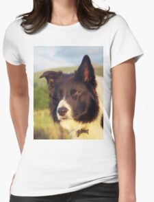 Indy in thought! Womens Fitted T-Shirt