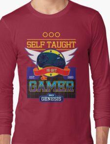 Self Taught Gamer of the 16-Bit Era Long Sleeve T-Shirt
