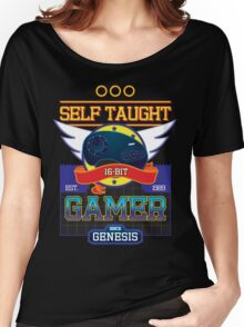 Self Taught Gamer of the 16-Bit Era Women's Relaxed Fit T-Shirt