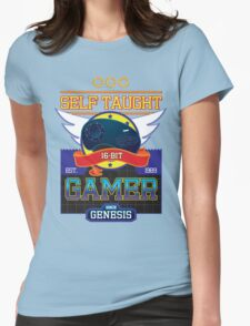Self Taught Gamer of the 16-Bit Era Womens Fitted T-Shirt