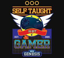 Self Taught Gamer of the 16-Bit Era Unisex T-Shirt