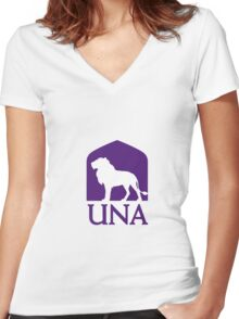University of North Alabama Women's Fitted V-Neck T-Shirt