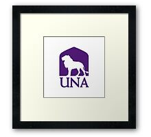 University of North Alabama Framed Print