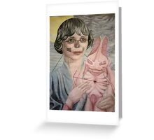 Space Madonna Greeting Card