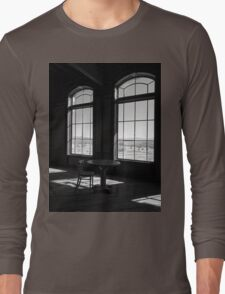 Table and Chair and The Windows Long Sleeve T-Shirt