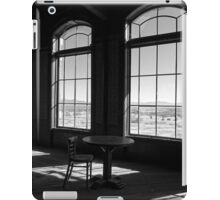 Table and Chair and The Windows iPad Case/Skin