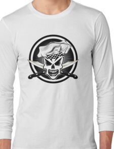 Chef Skull Black 2 Long Sleeve T-Shirt