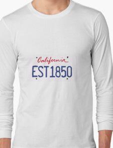 California License Long Sleeve T-Shirt