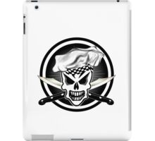 Chef Skull Black 2 iPad Case/Skin