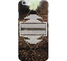 A picture of a pylon is boring 1 iPhone Case/Skin