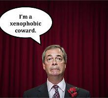 Nigel Farage  by bristaceyhughes