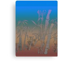 Pale Bamboo Canvas Print