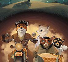 Mr. Fox Bike by xtotemx