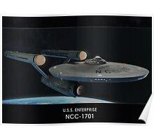 U.S.S. Enterprise NCC-1701 Poster